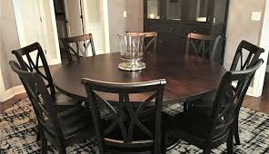 wayfair lazy susan brilliant modern round dining table