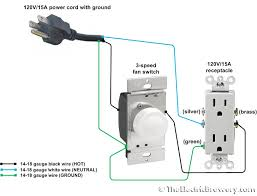 ventilation fan control wiring diagram