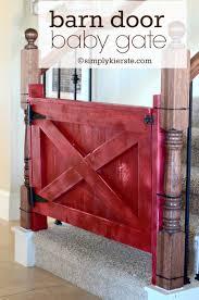 Barn Door Plans Diy Barn Door Baby Gate Simplykierstecom