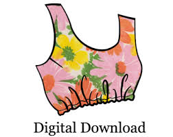 Crop Top Pattern Delectable Free Crop Top PDF Sewing Pattern Cropped Tank Top By Mixy Mitzy