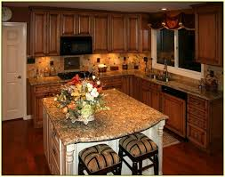 Nice Kitchen Backsplash Maple Cabinets