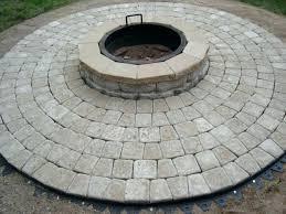 paver fire pit kit circular patio kit round fire pit kit designs circular patio kits