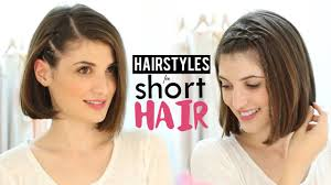 Short Hair Style For Girls hairstyles for short hair tutorial youtube 7511 by wearticles.com
