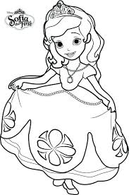 Sophia The First Coloring Pages The First Coloring Pages Dancing