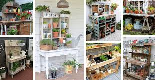 27 best potting bench ideas and designs