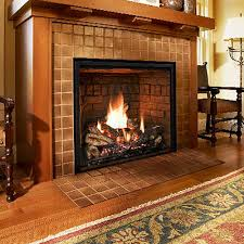 the mendota full view zero clearance gas fireplace provides the variety of looks along with