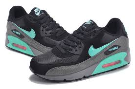 nike shoes air max black 90. women\u0027s flexible shoes nike air max 90 black sale out now hgy6314