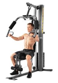 Golds Gym Xrs 50 Home Gym With Up To 280 Lbs Of Resistance High And Low Pulley System For Total Body Workout Walmart Com