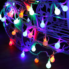 Led Round Ball Christmas Lights Us 6 31 20 Off 3m 4m 5m 10m Round Ball Led String Indoor Outdoor Holiday Garland Party Xmas Decoration Multicolor Led Lights Battery Box Usb In Led