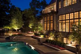 image of malibu landscape lighting pool