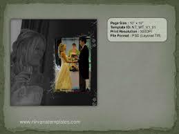 Psd Wedding Album Templates