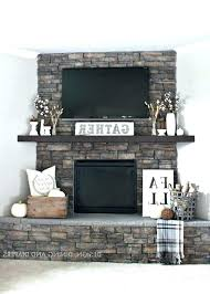 corner electric fireplace with tv above above stone fireplace stone corner fireplace with above fireplaces with