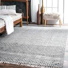 grey area rug hand woven gray yellow and target