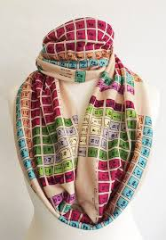 Chemistry Periodic Table Scarf
