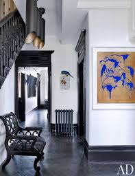 Room Skirting Designs Quirky Modern Hallway Painting The Skirting Boards And Door