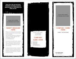 Free Microsoft Word Brochure Template Free Microsoft Word Brochure Template Sample Newsletter Templates 1