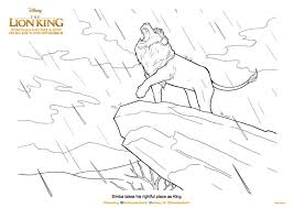 Below is a list of our lion king coloring pages. The Lion King Printable Colouring Pages And Activity Sheets In The Playroom