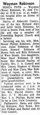 Obituary for Waymon Robinson (Aged 67) - Newspapers.com