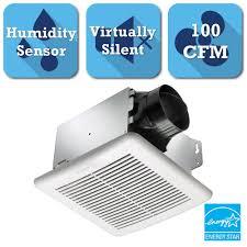 Hampton Bay 140 CFM Ceiling Bathroom Exhaust Fan-BPT18-54A-1 - The ...