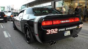 You Couldn't Out Run This Dodge Challenger SRT Custom Police Car ...