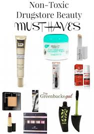 non toxic beauty must haves