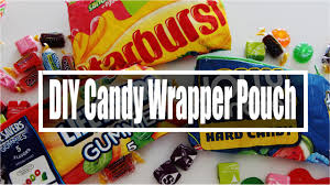 Chocolates Wrappers Diy Back To School Candy Wrapper Pencil Pouch