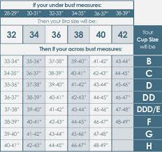 Spanx For Men Size Chart Breast Size Chart Pictures Real 34d
