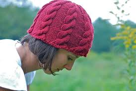 Free Knitted Hat Patterns On Circular Needles Enchanting Find Your Favorite FREE Cable Knit Hat Pattern