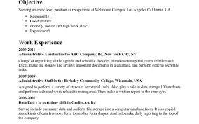 template example medical secretary resume sample killer resume goals examples medical receptionist resume objective examples medical examples of secretary resumes