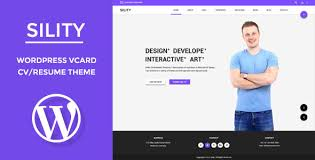 Download Sility Vcard Cv Resume Wordpress Theme For Free