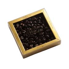 Just wait til you take the first sip! Confiserie Florian Box Of Coffee Flavored Chocolate Beans 140g