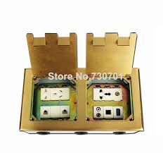 residential phone wiring reviews online shopping residential flip up type floor socket box dual connector box copper stainless steel material site computer phone jack copper wire grounding