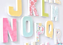 letter decoration for wall letters wall decor