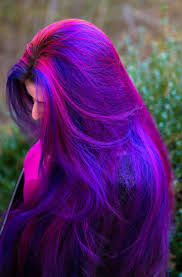 Purple Hair Style the 25 best long purple hair ideas crazy hair 6363 by wearticles.com