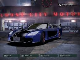 Need For Speed Carbon Mods Ep 1 Rx7 From Fast And Furious Tokyo