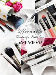 affordable makeup brushes uk