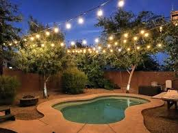 diy outdoor string lights outdoor light pole backyard string lights ideas patio lights string ideas deck lighting ideas pictures