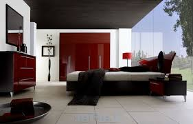 Bedroom Decorating Ideas Red Black And White Part 60