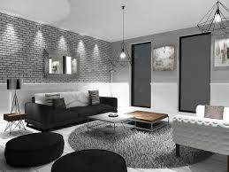 Great Black White And Gray Living Room Part 22