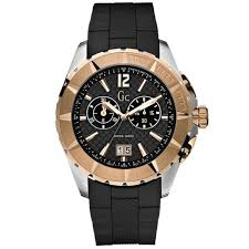 collection mens gold black sports watch gc i40500g1 guess collection mens gold black sports watch gc i40500g1