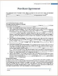 purchase agreement sample purchase agreement template at worddox org microsoft templates
