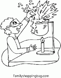 Small Picture Kid in Science Room School Coloring Pages Free Printable Ideas