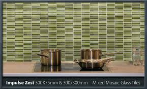 glass wall tiles. Impulse-zest-300x75mm-300x300mm Glass Wall Tiles
