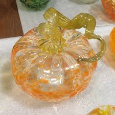 pumpkin patch locations handblown glass vase hanging blown glass art corning glass pumpkins hand blown glass figurines