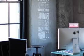 inspirational office spaces. Steve Jobs Quote Wall By Garrett Gee Inspirational Office Spaces