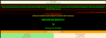 Play Bazaar Online Chart When Playing Any Game In The Online Satta Bazaar Knowledge