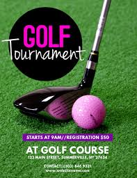 Golf Tournament Flyer Template Golf Tournament Flyer Template Postermywall