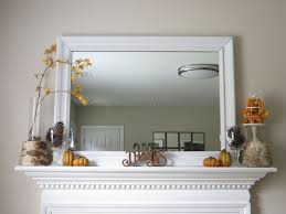 diy dollar tree decor diy fall mantel with dollar tree items and upcycled pieces on