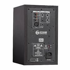 adam adam a5x active studio monitor single black monitor wall mount