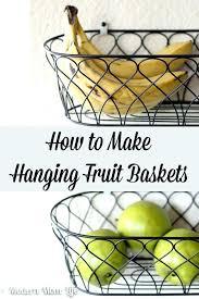 Wall Mounted Fruit Basket Interior Design Uk How To Make Hanging Baskets  Free Up Space